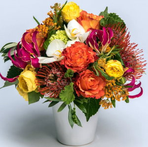 Organic & Free   in Oakville, ON | ANN'S FLOWER BOUTIQUE-Wedding & Event Florist