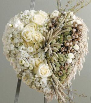 Organic Heart High style Heart  in Ozone Park, NY | Heavenly Florist