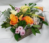Organic Sunrise Fresh Floral Design