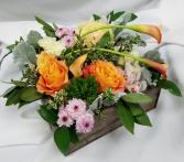 Organic Sunrise Fresh Floral Design