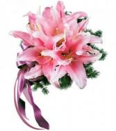 Oriental Lilies Nosegay HF167A