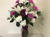 Oriental Lily in Deep Purple  Easter