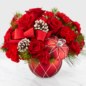 Ornament Arrangement Christmas Arrangement