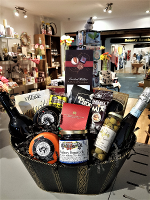 OUR MOST POPULAR  GOURMET BASKET W/ 2 BOTTLES OF WINE in Halifax, NS | Twisted Willow
