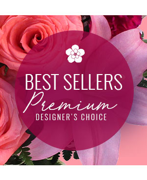 Our Best Seller Premium Designer's Choice in Minden, LA | Red Blooms Floral Designs and Events