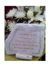 "Our Family Chain 13"" x 12"" Memorial Stone"