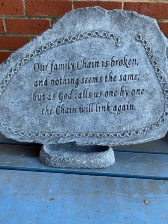 Our family chain is broken...