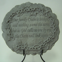 Our Family Chain Memorial Stone