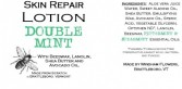 DOUBLE MINT Made from Scratch Natural Hand Lotion Our own luxurious shea butter, beeswax and lanolin hand lotion !