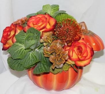 Our Pumpkin Fresh Floral Design