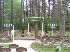 OUTDOOR ARBOUR WEDDING