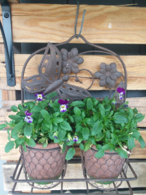 Outdoor Decorative Plant Holder