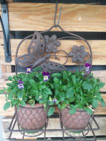 Outdoor Decorative Plant Holder
