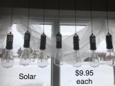 outdoor lights solar lantern