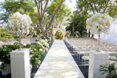 Outdoor wedding bliss