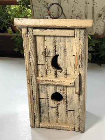 Outhouse Birdhouse gift item