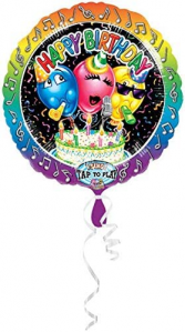 Over sized Singing Balloons!!! Look may vary depending what is in stock...but they sing Happy Birthday every time you tap it!! Very Popular!!