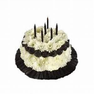 Over The Hill Floral Birthday Cake Fresh Floral Arrangement