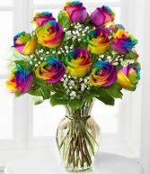Over the Rainbow Bouquet Valentines Day