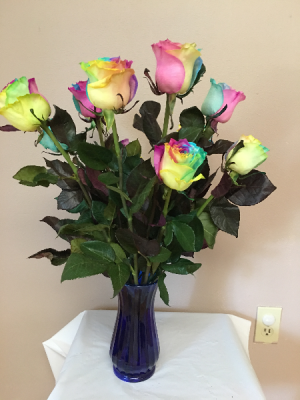 over the rainbow dz rainbow roses in Renton, WA   Alicia's Wonderland II