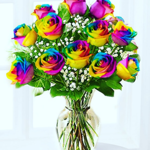 Over The Rainbow For You Floral Arrangement  in Oak Ridge, TN | RAINBOW FLORIST