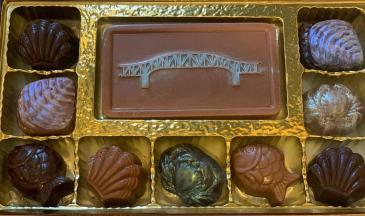 Over the River chocolate assortment
