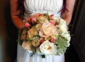Over The Top Bridal bouquet