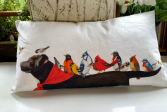 Oversized Labrador pillow gift item