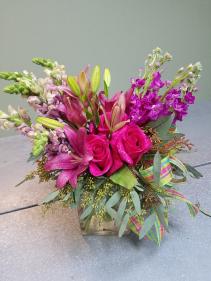 Overtime Vase Arrangement