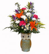 Owl Arrangement