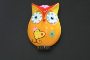 OWL MAGNET Gift Item  in Riverside, CA | Willow Branch Florist of Riverside