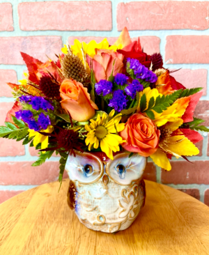 Owl you need is love.  in Whittier, CA | Rosemantico Flowers