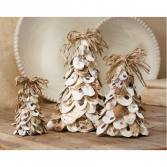 oyster shell tree set