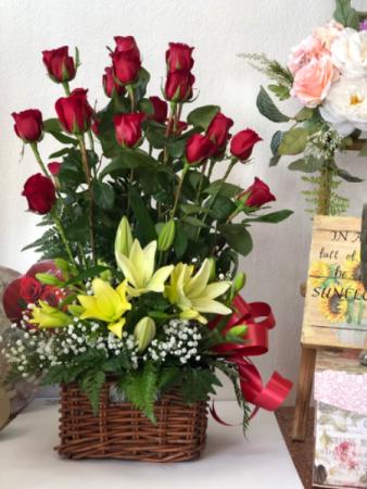 Happy In Love Rose Arrangement