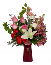 P.S. I Love You..... Valentine Arrangement