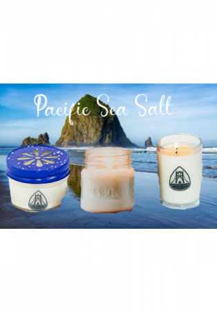 Pacific Sea Salt Candles  Locally Made By Bridge Nine