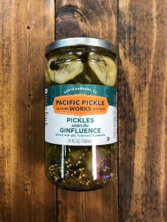 Pacific Pickle Works: Pickles under the Ginfluence