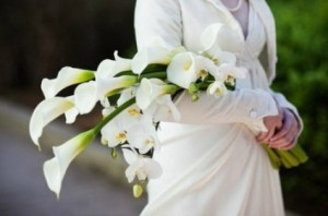 Pageant Style  Wedding Bouquet  in Oakville, ON | ANN'S FLOWER BOUTIQUE-Wedding & Event Florist
