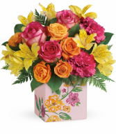 Painted Blossoms Bouquet Teleflora
