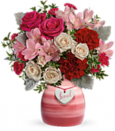 Painted in Love Bouquet Valentine