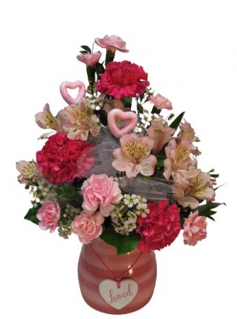 *** SOLD  OUT ***Painted Pink Valentine