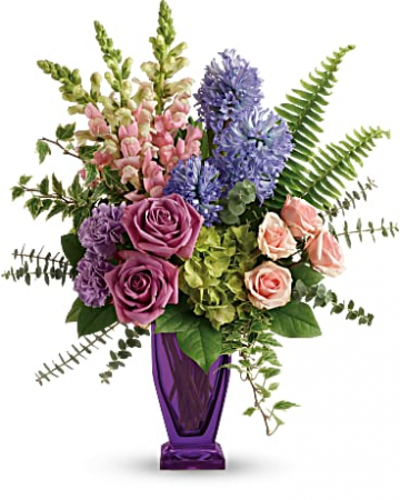 Painterly Pastels Vase