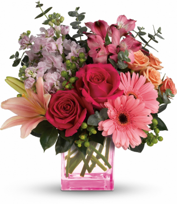 Painterly Pink Bouquet