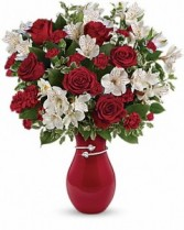 Pair of Hearts Bouquet by Enchanted Florist of Cape Coral