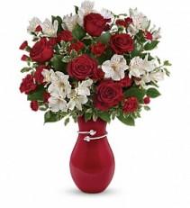 **SOLD OUT** Pair Of Hearts Bouquet Teleflora Arrangement