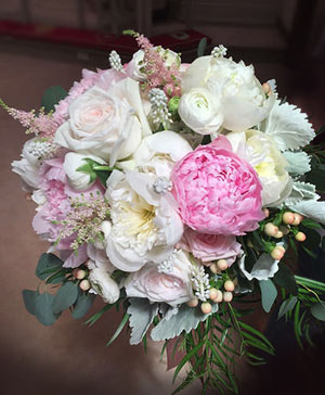 Pale Pink Pearls Bouquet in Frederick, MD | Gene's Frederick Florist & Gift Baskets