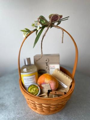 Pamper Me Basket Gift Basket in La Grande, OR | FITZGERALD FLOWERS