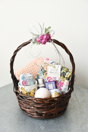 Pamper Me Basket of Goodies  in La Grande, OR | FITZGERALD FLOWERS