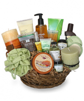 Pamper Me Silly Basket Various colors and fragrance