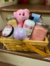 Pamper Me Valentine! Gift Basket